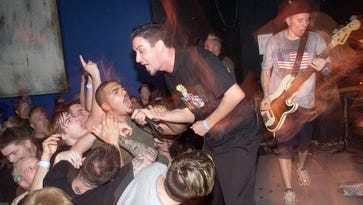 Sick Of It All performs at the Knitting Factory in New York City in 2001. .