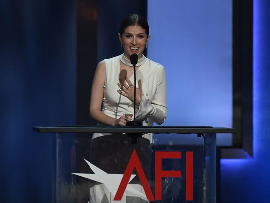 Anna Kendrick served up some zingers while toasting