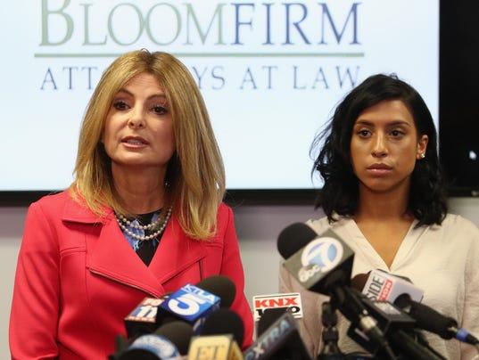 Lisa Bloom And Montia Sabbag Hold Press Conference Over Kevin Hart Scandal