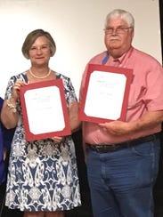 Inaugural Community Outreach Award recipients John