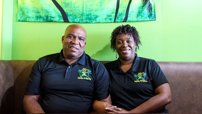 Tony and Kim Scott own Tony's Jamaican Food, which has two Austin-area locations.