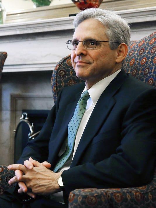Supreme Court Nominee Merrick Garland Meets With Senators On Capitol Hill
