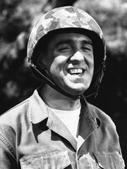 Jim Nabors is seen in character for his role of Gomer