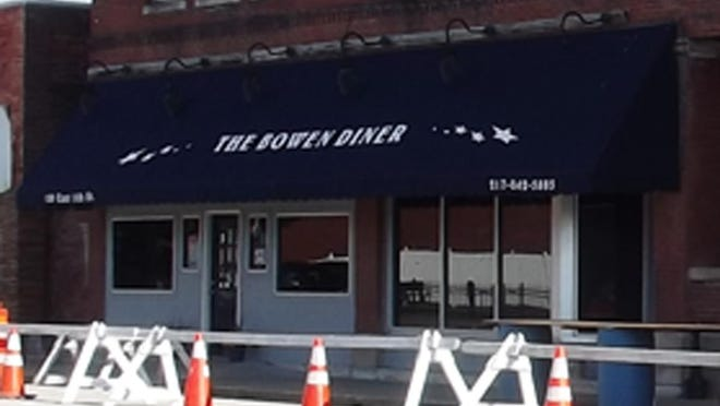 """The Bowen Diner, also known locally as the """"Bowen Arrow,"""" is seen in this photo taken the first week of June."""