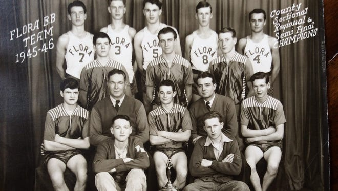 The Flora Badgers were the talk of the 1946 state high school basketball tournament. The team, coming from a school with a senior class of 30, upset Lafayette Jeff, among others, to make it to the final four.