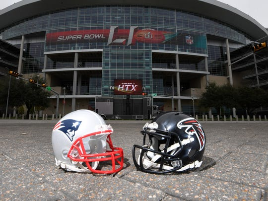 The Patriots and Falcons vie for NFL supremacy in Super