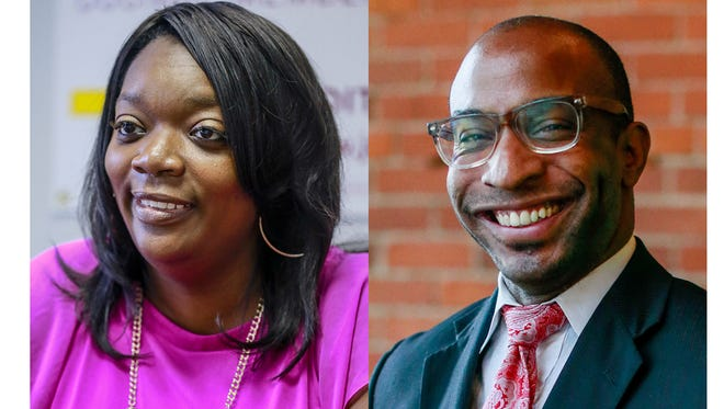 Janee L. Ayers and David Alexander Bullock are running for Detroit council member at large.