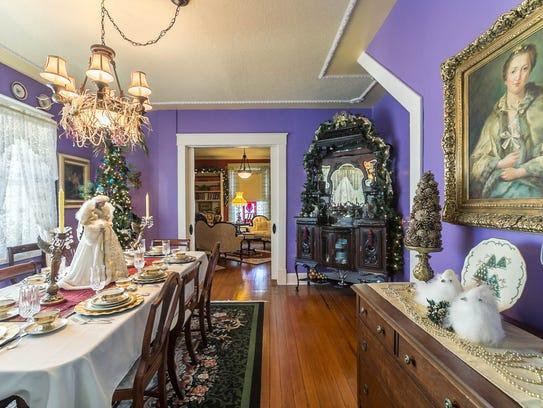 The Marshfield home of Dennis and Melanie Billman,