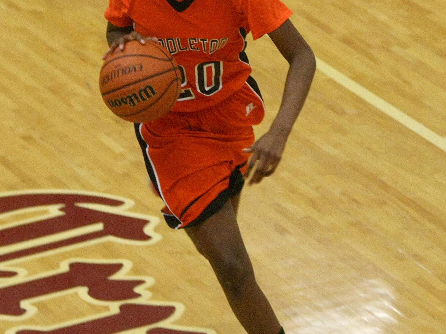 Middleton's Chelsey Perry (20) and the Lady Tigers moved up one spot to No. 3 in this week's Dirty Dozen.