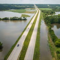As Des Moines River recedes, Iowa DOT scraps plan to close a portion of Highway 30 near Boone
