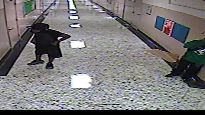 Jackson police are looking for three people in a burglary Monday night at Parkview Learning Center on East Chester Street.