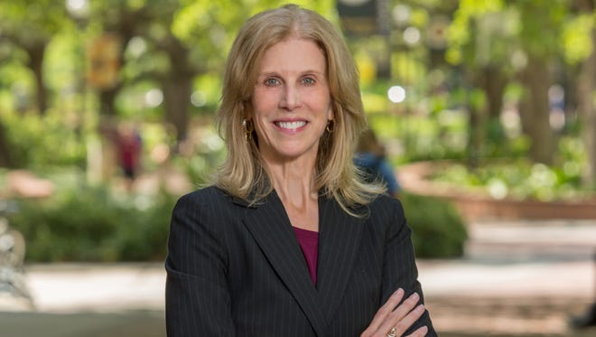 2018 Lawton Professor Pam Perrewe has always stepped up to take on new challenges.