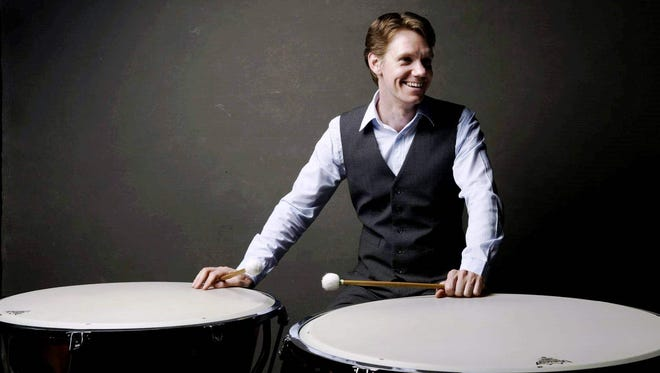 Percussionist Michael Tetreault will be one of three Fort Collins Symphony percussionists to demonstrate three percussion instruments at the fundraiser: the timpani, vibraphone and xylophone.