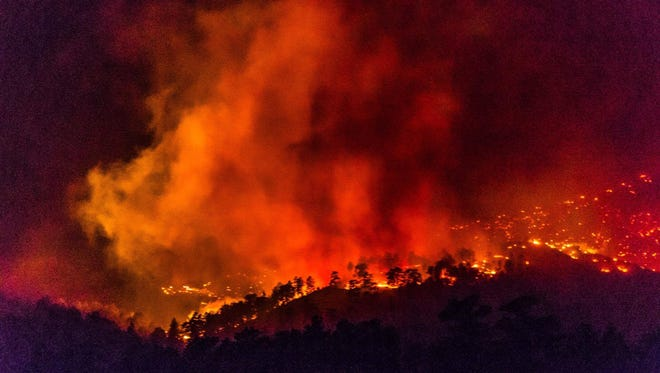 The Bobcat Power Line Fire burned 189 acres and was likely sparked accidentally by power line operations in the area.