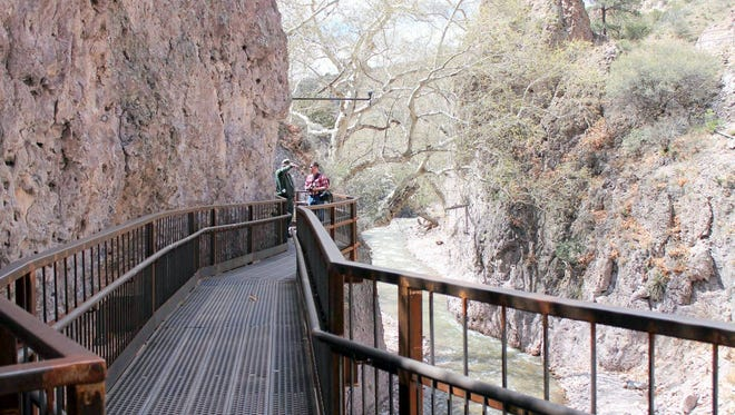 The Catwalk will be open for National Get Outdoors Day on Saturday. Parking will be free during this day which was created to encourage healthy, active outdoor fun at sites across the nation.