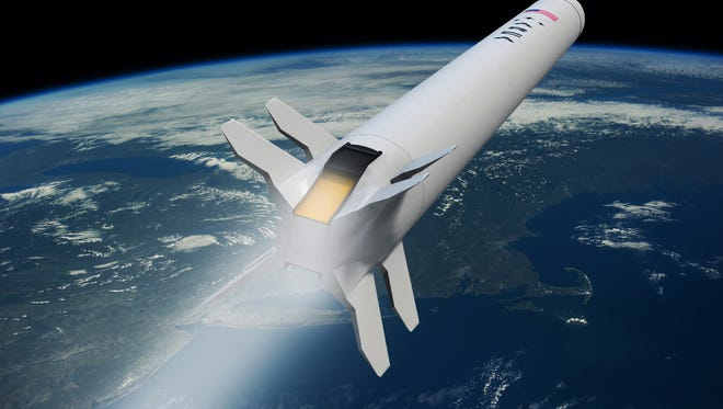 ARCA's Demonstrator 3 rocket will test the aerospike engine planned for use in the Las Cruces company's Haas-2CA rocket.