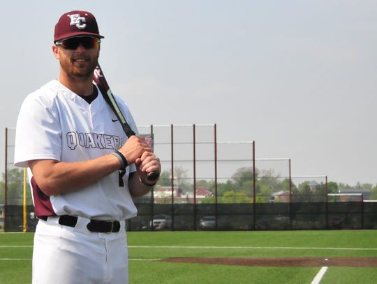 Brennan Laird, Earlham College senior