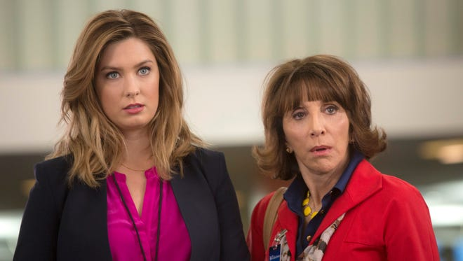 Briga Heelan, left, plays a TV news producer who is surprised to learn her mom (Andrea Martin) is the new intern on her show on NBC's 'Great News.'