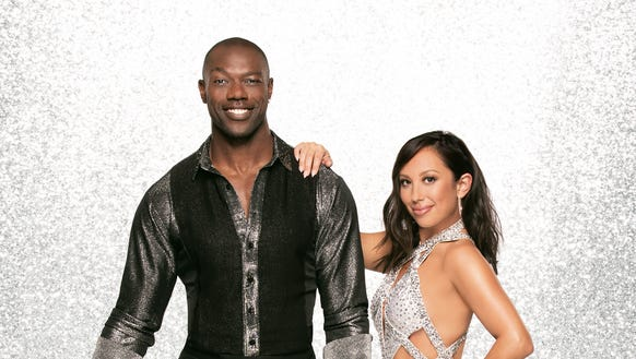 'Dancing With the Stars' Terrell Owens and Cheryl Burke.