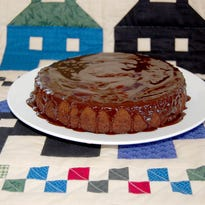 Rum-infused Celebration Chocolate Cake a decadent dessert | Sweet & Savory