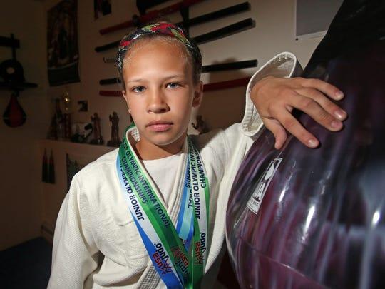 Gianna Cilenti won the international judo title in