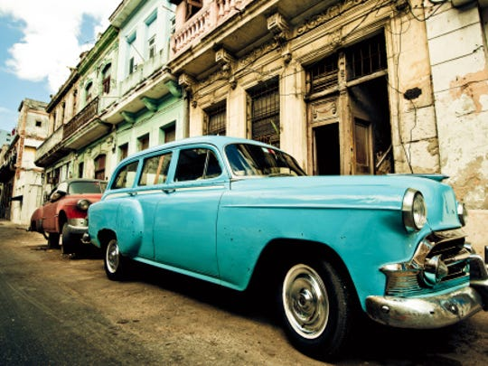 Havana street, Cuba