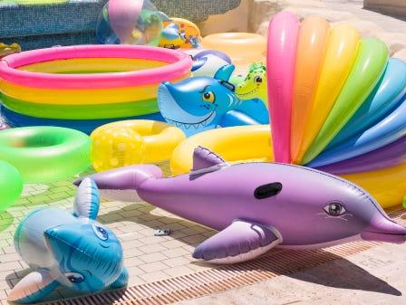 Beach balls! Rafts! Squirt guns and more! Enter to win a $100 Walmart gift card below. 6/8-6/30.