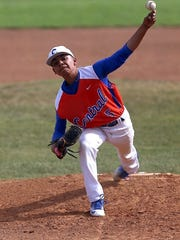 Central High School pitcher Jonathan Limon
