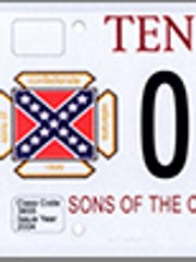 Sons of the Confederate Veterans license plate