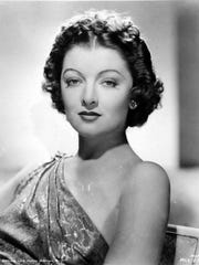 Actress Myrna Loy worked to advance the mission of