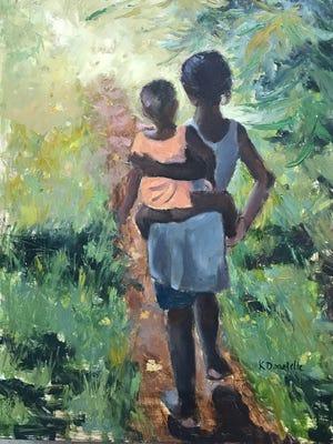 "Avenue Art & Company, Appleton, will present "" Faces of Kenya Works"" Oct. 12 to Nov. 2."