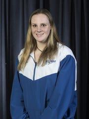 2018 All-Shore Girls Swim team. Ginger Hansen of Holmdel. Neptune, NJ Thursday, March15, 2018 @dhoodhood