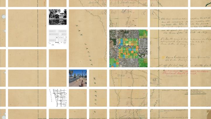 Explore the Agua Caliente checkerboard