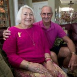 Gulf Breeze resident, Dottie Campbell, was diagnosed with cancer in 1985 and with support from her husband, Al, right, battled the disease for many years. Campbell has been in remission since 2005.