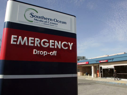 A 2011 photo of a sign on the site of the expansion of the emergency department at Southern Ocean Medical Center in Stafford.