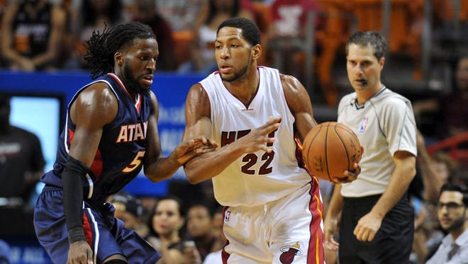 Heat forward Danny Granger returns to face the Pacers today at Bankers Life Fieldhouse.