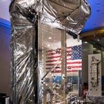 On March 3, MUOS-5, the next satellite scheduled to join the U.S. Navy's Mobile User Objective System (MUOS) secure communications network, arrived at Cape Canaveral after shipping from Lockheed Martin's satellite manufacturing facility in Sunnyvale, California.