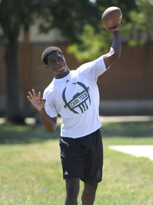Quarterback Rodney Hall is healthy and ready to lead Cass Tech again. He threw for 2,384 yards and 19 TDs last year and ran for 1,127 yards and 16 TDs before a leg injury.