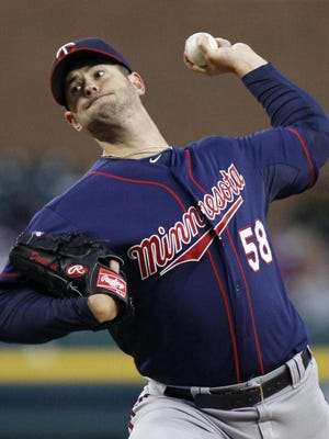 Scott Diamond, the first Binghamton University player to reach the major leagues, was released by the Twins on Saturday.