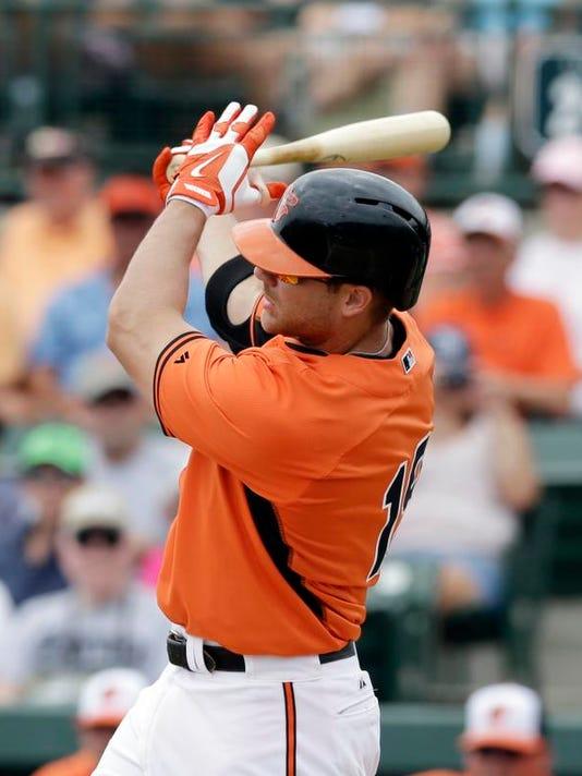 Orioles Crush Davis Baseball