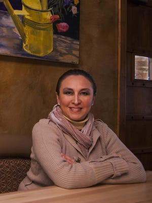Azucena Tovar is owner of Los Sombreros Cafe & Cantina.
