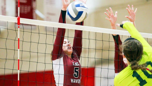 Kennard-Dale High School graduate Jessica Brown has been named to the All-Pennsylvania State Athletic Conference East Division First Team in women's volleyball.