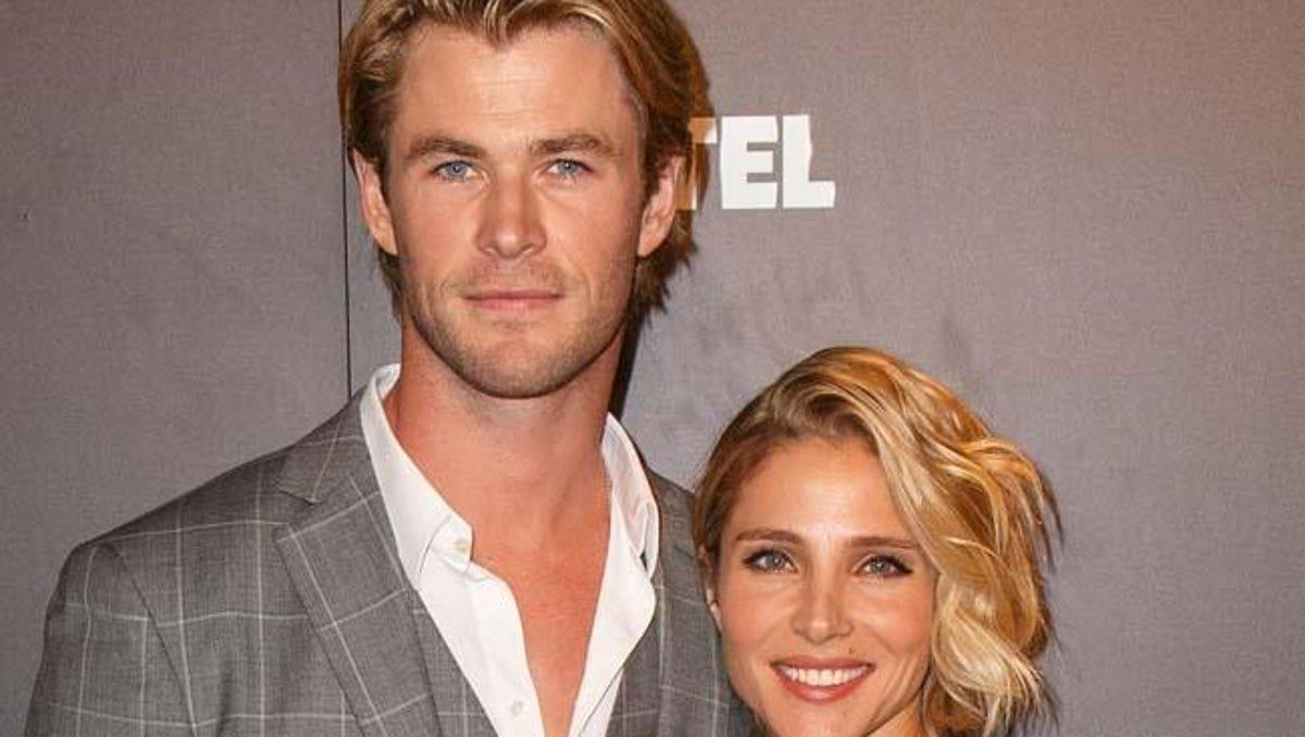 Chris hemsworth dated who has Chris Hemsworth