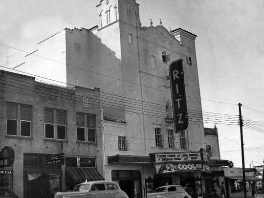 CALLER-TIMES FILE The Ritz theater in its heyday.