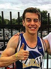 Nick Cedillo will compete in the 19th annual Madeira Mile July 1.
