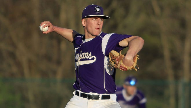 Peyton Burdick takes the mound and will play outfield for Glen Este. Burdick committed to Wright State last November.