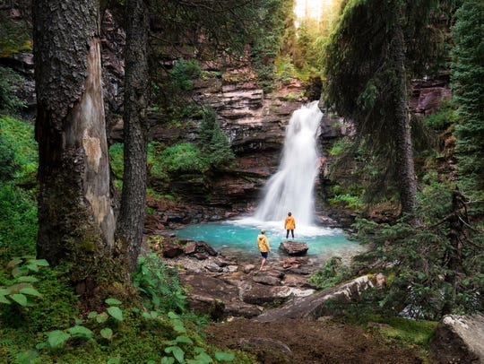 Two waterfalls that are worth checking out this spring