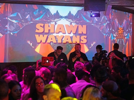 Actor/comedian Shawn Wayans played a nearly three-hour