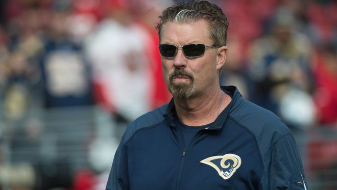St. Louis Rams defensive coordinator Gregg Williams before the game against the San Francisco 49ers at Levi's Stadium.
