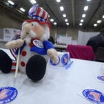 Election Day 2014 in Exhibition Hall at Montana ExpoPark.